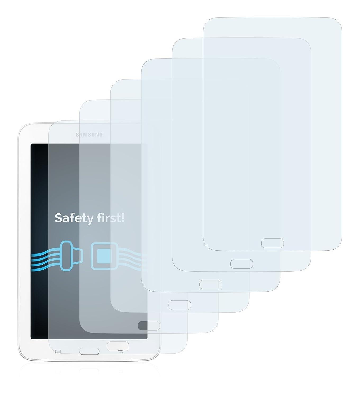 Savvies Pellicola Protettiva compatibile con Samsung Galaxy Tab 3 Lite Protezione Schermo 7.0 6 Pezzi