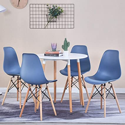 Awesome Raygar Lite Dining Table And Chairs 4 Eiffel Style Plastic Cjindustries Chair Design For Home Cjindustriesco