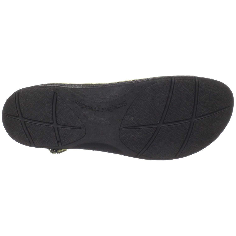 Drew Shoe Women's Sandy Sandal B003YUMIDU 6 W US|Green Nubuck