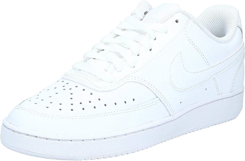 Nike Herren Court Vision Lo Basketballschuhe, weiß Weiß White White White 100