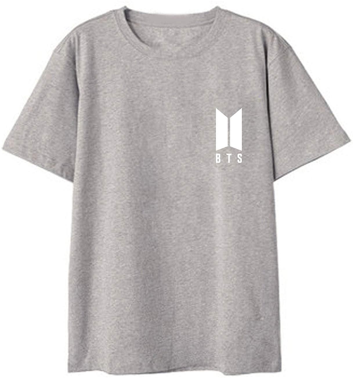 SERAPHY Unisex KPOP BTS T-shirt Bangtan Boys Top Birthday tshirts