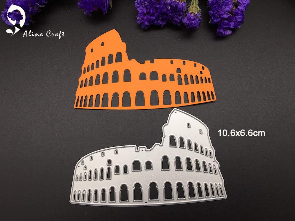 SMALL-CHIPINC - Metal cutting dies for Scrapbook album paper craft decoration embossing stencil template Italy Roman abattoir steel die cut