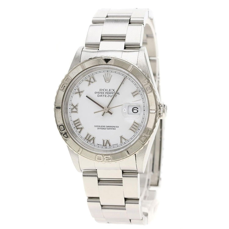 [ロレックス]デイトジャスト サンダーバード 腕時計 ステンレス メンズ (中古) B079Q6PRJ7