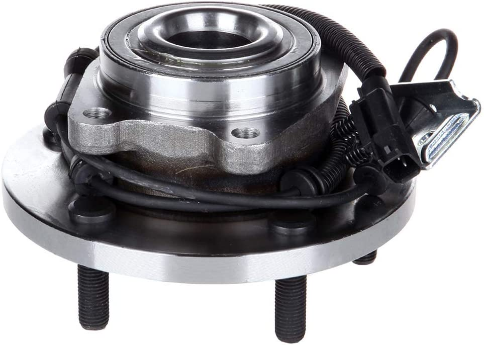 OCPTY New Wheel Hub Bearings Front Axle 5 Lugs with ABS Fit for 2008-2016 Dodge Grand Caravan,2009-2014 for VOLKSWAGEN Routan OE 515136 Pack of 1