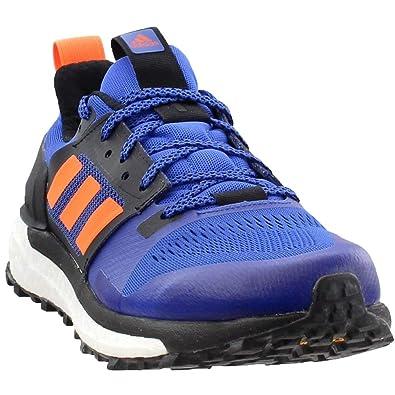 c1aa5374e8a48 adidas outdoor Supernova Mens Trail Running Shoes, Hi-Res Blue/Hi-Res  Orange/Black, 11.5