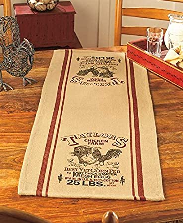Country Table Runners (Taylors Chicken Farm)