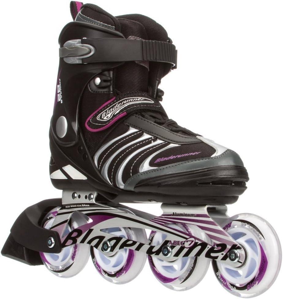 Rollerblade Bladerunner Formula 82 Womens Inline Skates 2015 8.0 Black-Purple