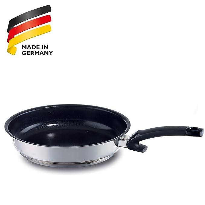 Fissler 13810320100 Maxeo Comfort - Sartén de acero inoxidable, cerámica y plástico (20 cm): Amazon.es: Hogar