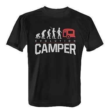 f7f41ca3fc0237 Fashionalarm Herren T-Shirt - Evolution Camper