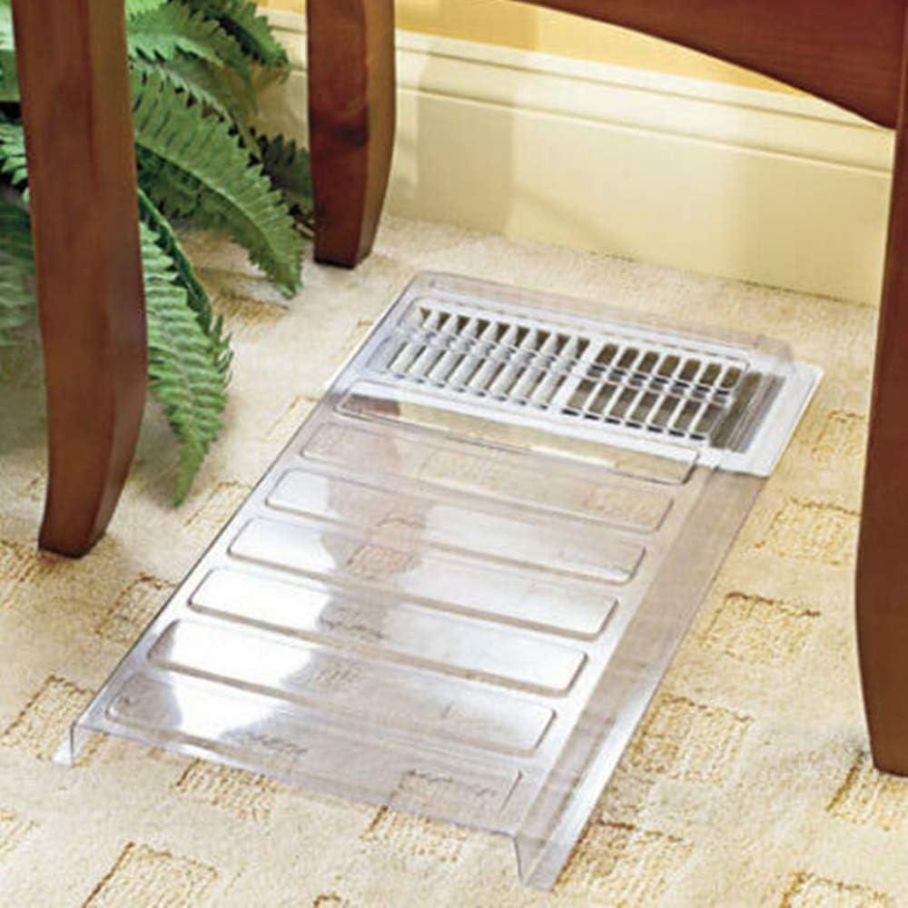 Briskly41 Vent Extender Heat Air Conditioner Register Deflector Adjustable Floor Furnace