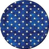 Creative Converting 319619 96 Count Patriotism Sturdy Style 7'' Dessert Plates