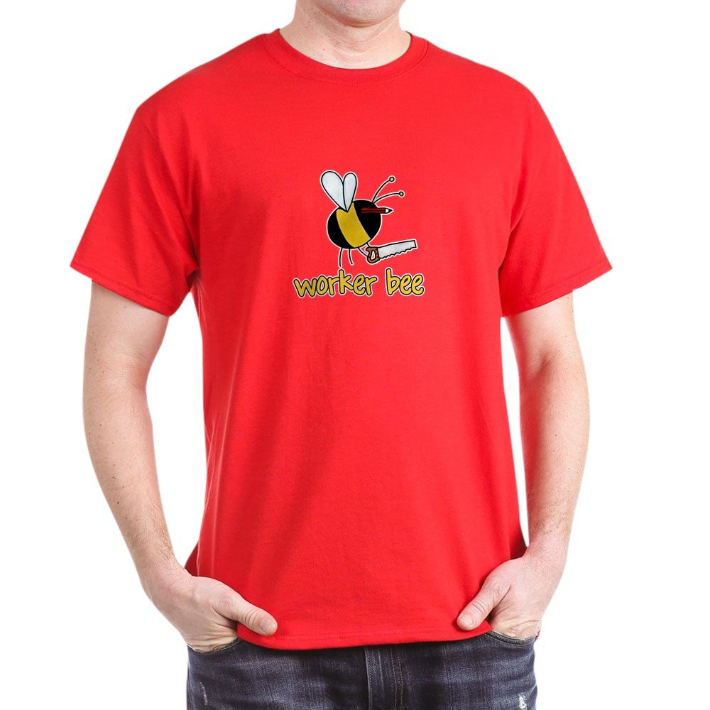663f39ac Amazon.com: CafePress Carpenter, Joiner 100% Cotton T-Shirt Red: Clothing