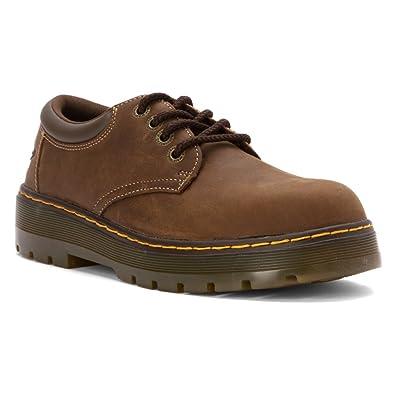 ce61333c184 Dr. Martens Men's Rivet Steel Toe Leather Work Boots
