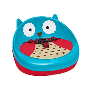 46e3ec09530 Amazon.com : Skip Hop Zoo Owl Booster Seat, Blue : Baby