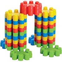 Lodestone Pagoda Blocks, Block Games for Babies, 3-8 Years (Multicolour)