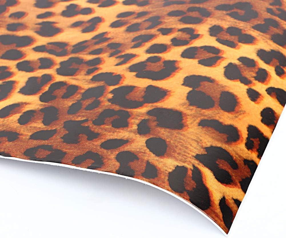 Amazon Co Jp Yazi 壁紙 のり付き 豹柄 ウォールステッカー 剥がせる 壁紙シール リメイクシート 防水 補修リフォームシート 個性的 ヒョウ柄 賃貸壁紙 45cmx10m ホーム キッチン