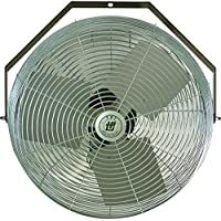 Industrial Workstation Fan 3 Speed 12 inch 1650 CFM U12-TE by TPI Corporation