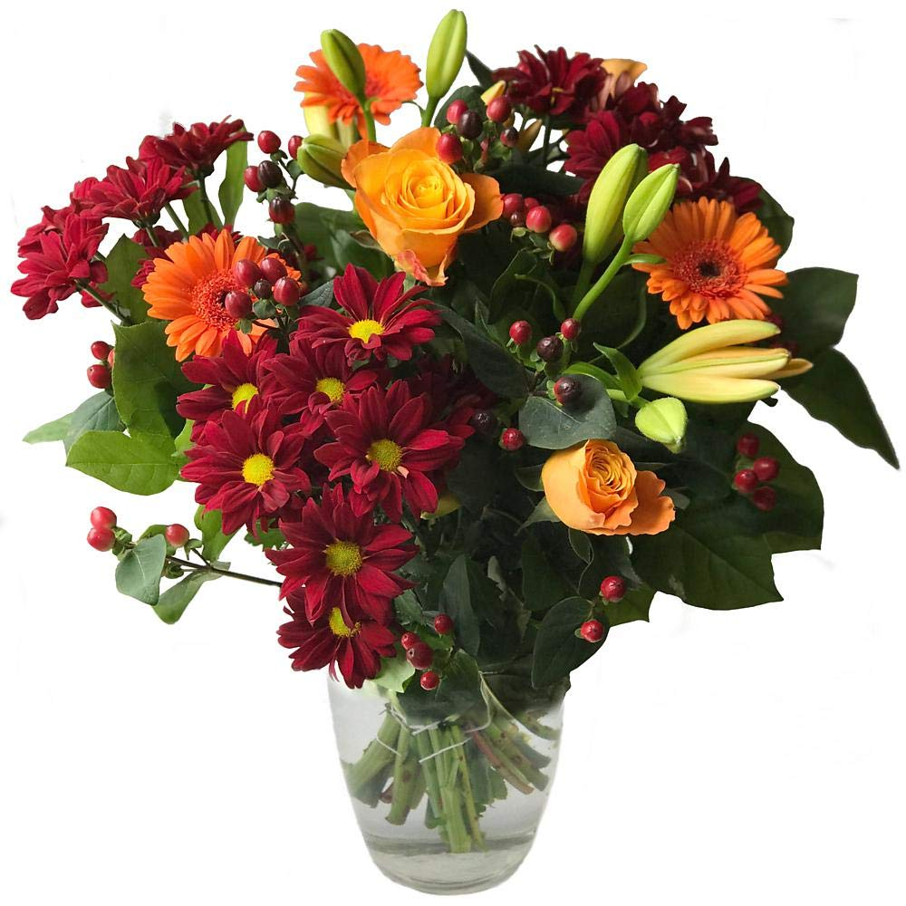 Clare Florist Autumn Meadows Fresh Flower Bouquet Y-1366-A