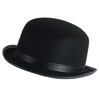 Image Unavailable. Image not available for. Color  Fun World Unisex-Adult s  Jacobson Deluxe Felt Derby Hat 6c30307f46ed