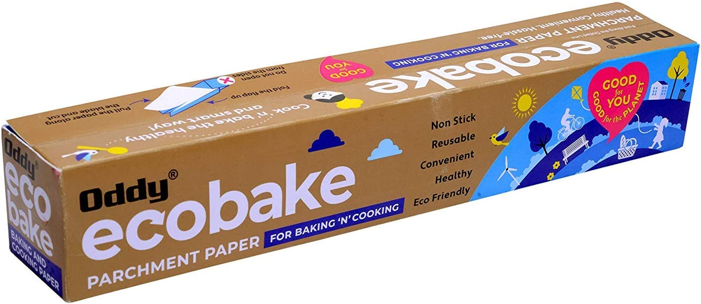 Oddy Uniwraps Baking and Cooking Parchment Paper (White): Amazon ...