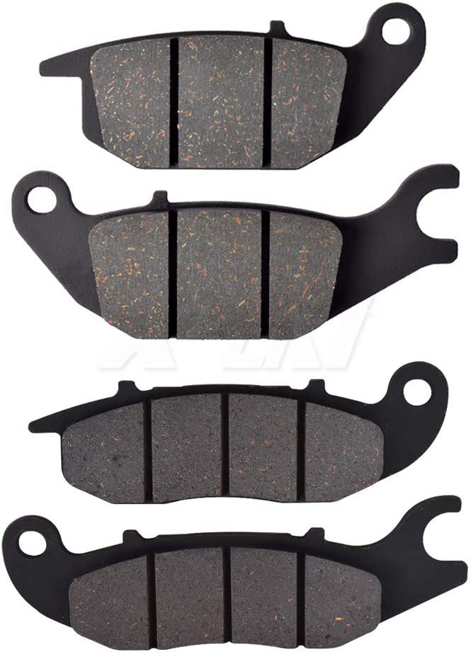 KYN for Hero Karizma ZMR 230 2011 2012 Motorcycle Front Rear Brake Pads Organic Disc