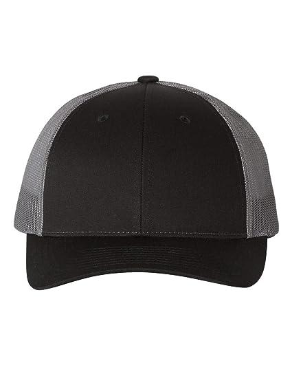 a6e958540 Richardson 115 LOW PRO TRUCKER BLANK BASEBALL CAP HAT