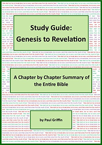photograph relating to Printable Bible Study Guide for Genesis identify Exploration Direct:Genesis toward Revelation: A Chapter through Chapter Conclusion of the Comprehensive Bible