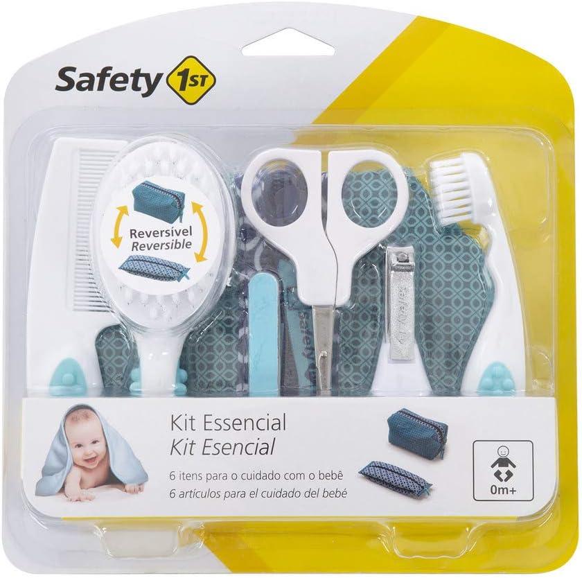 Safety 1st Estuche Esencial DE Aseo - Estuches de Aseo y cuidados del bebé, Color Turquesa / Blanco: Amazon.es: Bebé