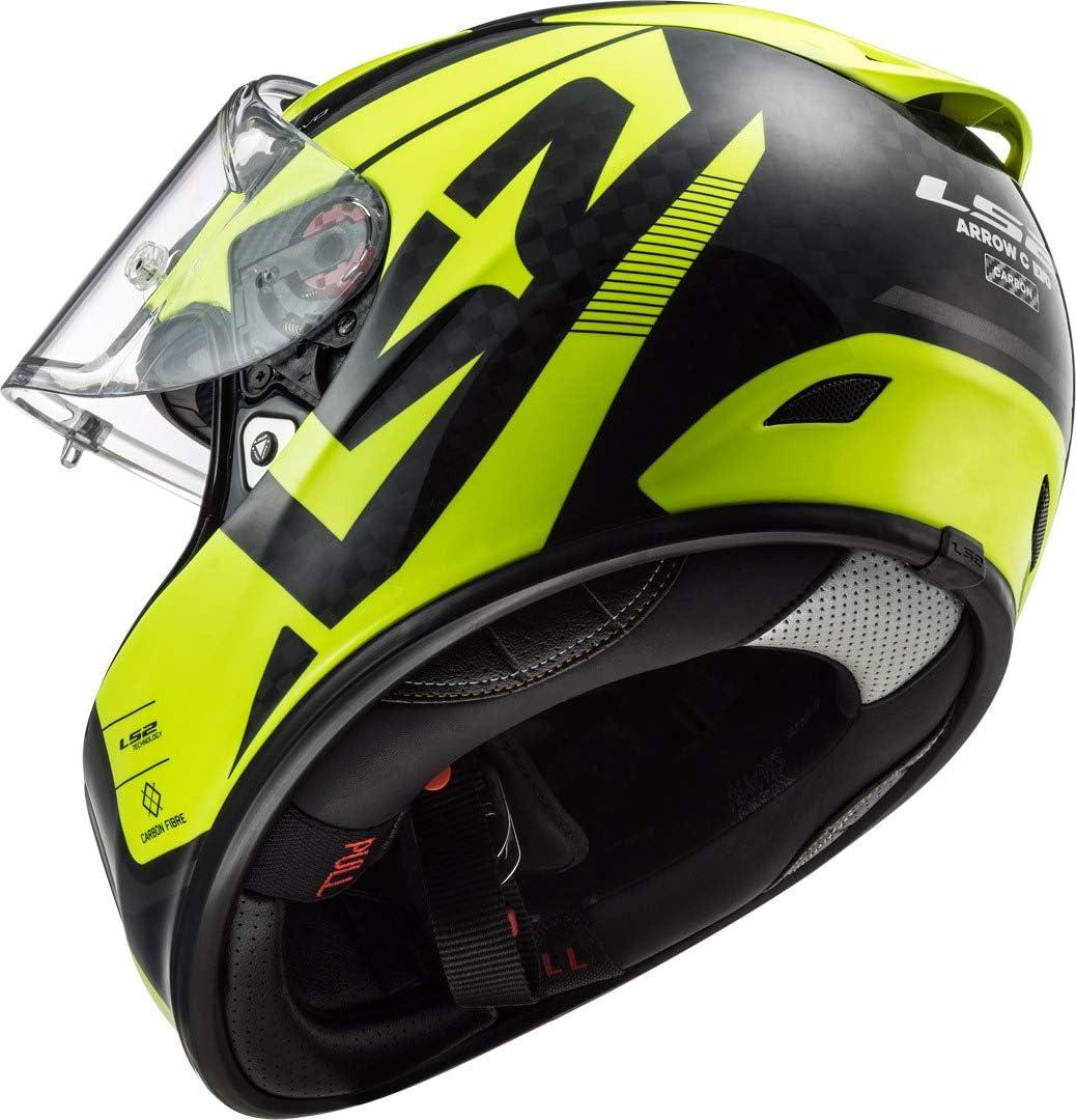 103233752XXS LS2 FF323 Arrow C Evo Sting Motorcycle Helmet XXS Blue Fluo Orange