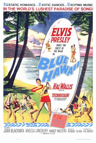 27 x 40 Blue Hawaii Movie Poster by Movie Posters