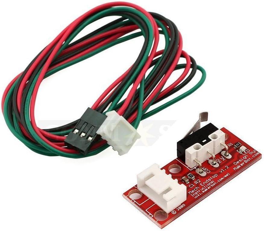 KOOKYE 5 de final de carrera mecánico + Cable interruptor mecánico ...