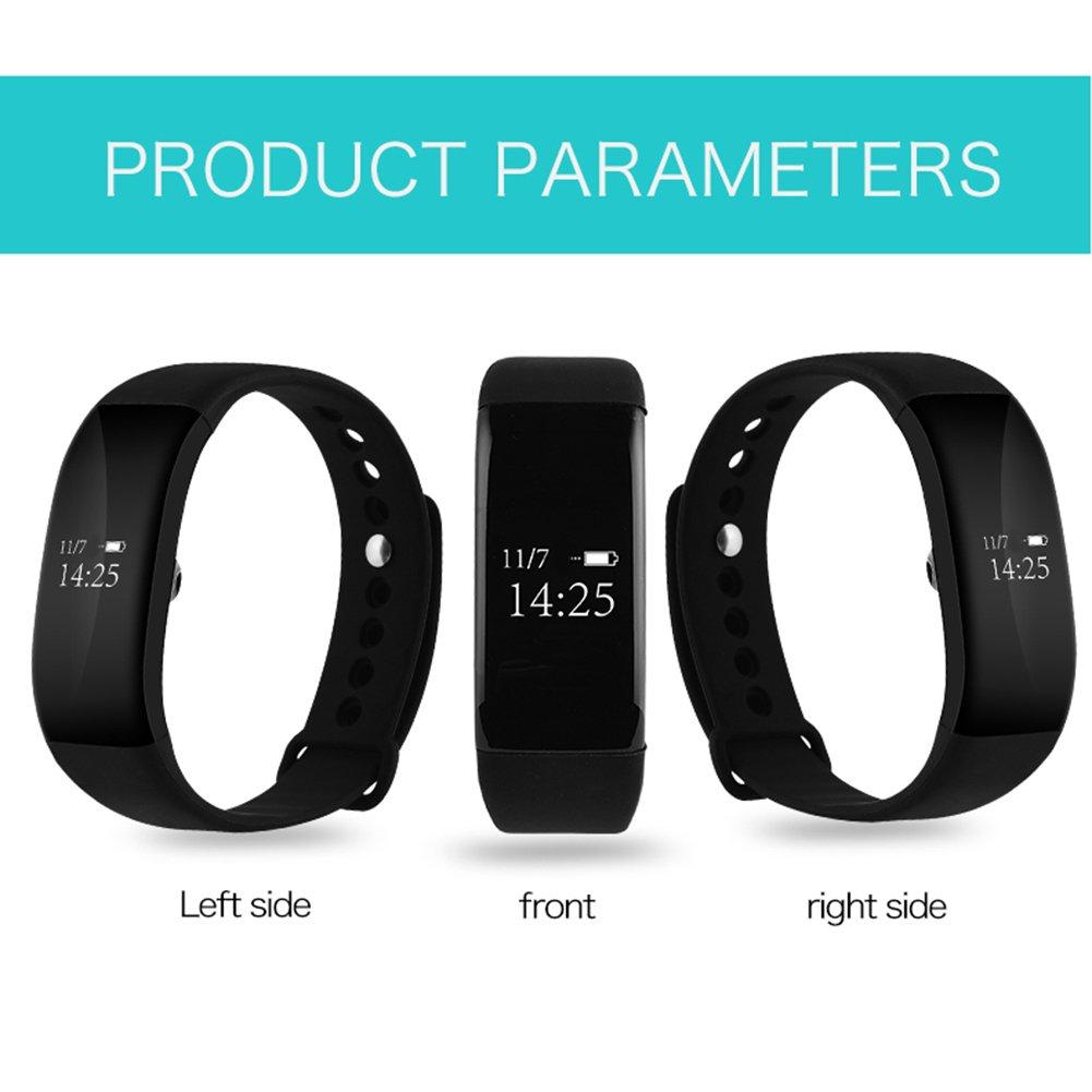 Pulsera Actividad Demiawaking Reloj Inteligente Impermeable de ...