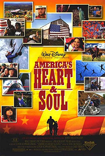 America's Heart and Soul Poster Movie 27x40
