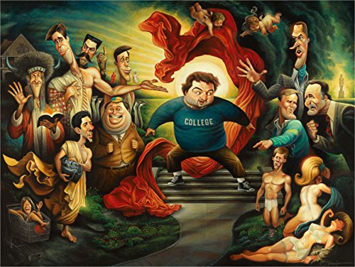 Knowledge is Good. A Tribute to Animal House Giclée Print (22 x 28)