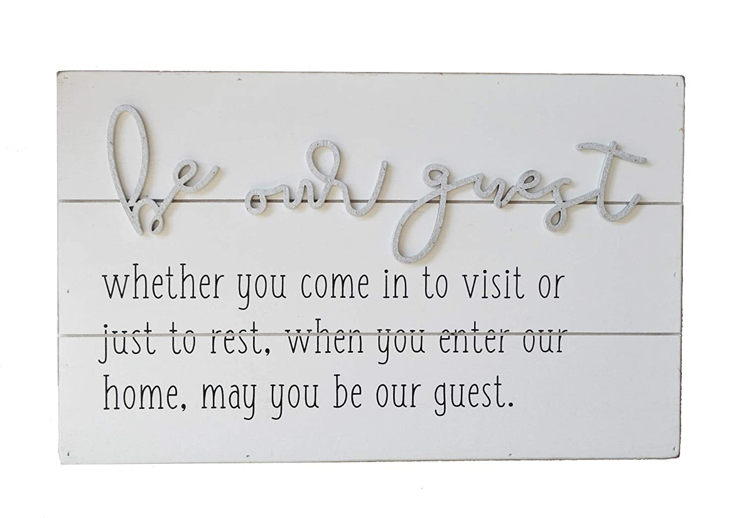 Guest Sign Guest Home Decor Be Our Guest Guest Bedroom