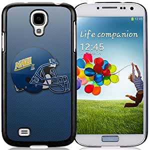Beautiful And Popular Designed With NCAA Big Sky Conference Football Northern Arizona Lumberjacks 5 Protective Cell Phone Hardshell Cover Case For Samsung Galaxy S4 I9500 i337 M919 i545 r970 l720 Phone Case Black