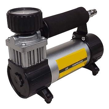 AWAKMER El Mejor inflador de neumáticos con compresor de Aire de 12V DC con Bomba de