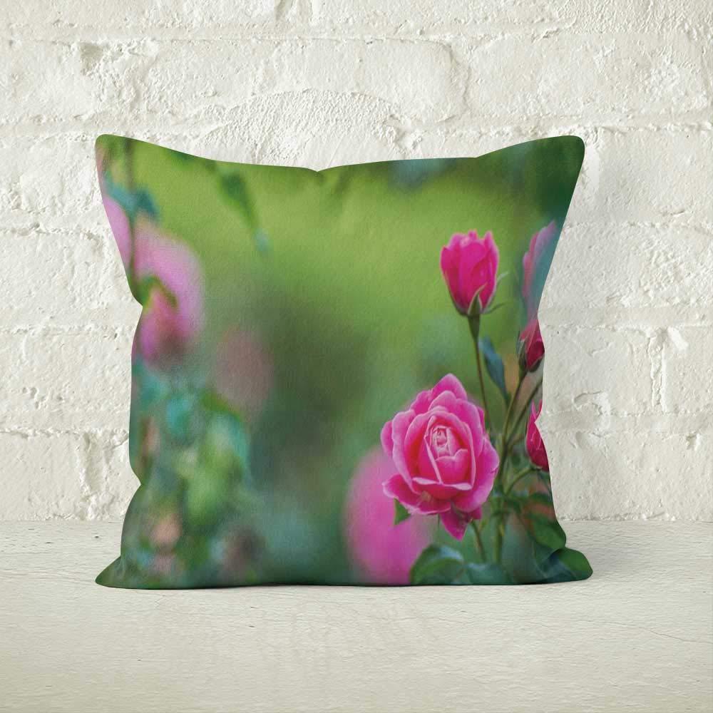 Amazon.com: Nine City Flores Rosas Home Decorative Throw ...