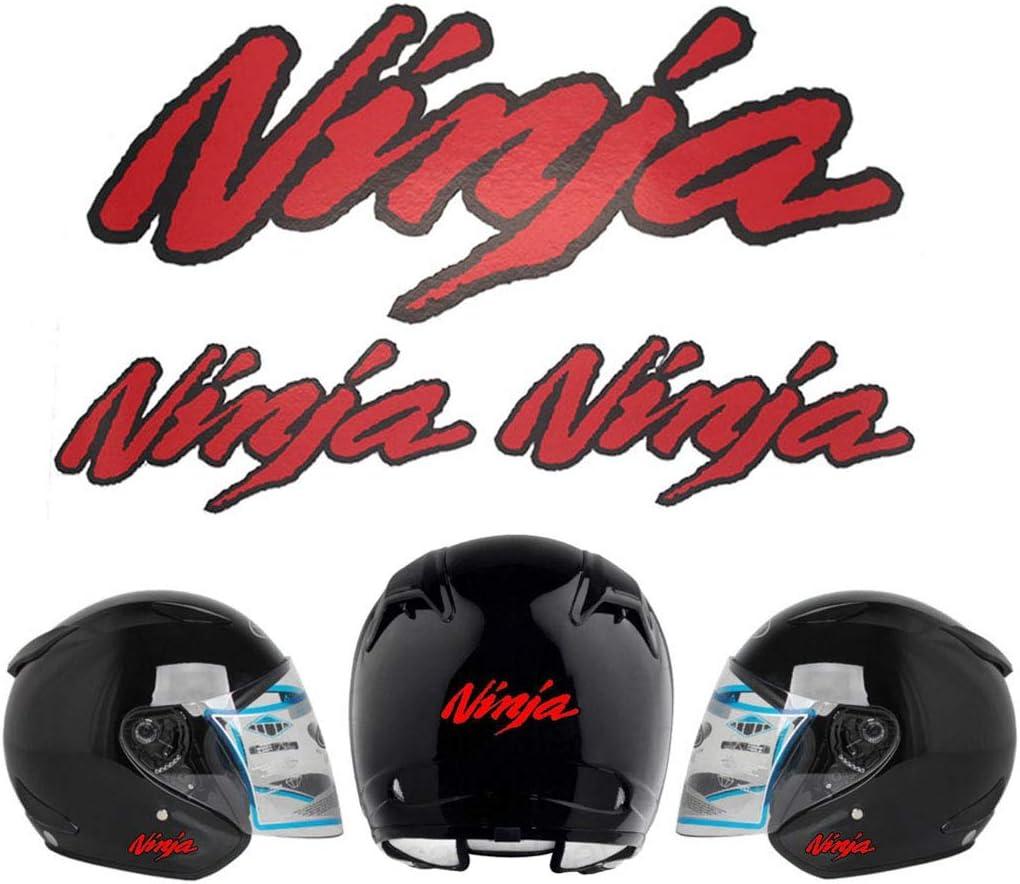 PSLER Motorrad-Aufkleber dekorativer Aufkleber f/ür Kawasaki Ninja Helm-Aufkleber