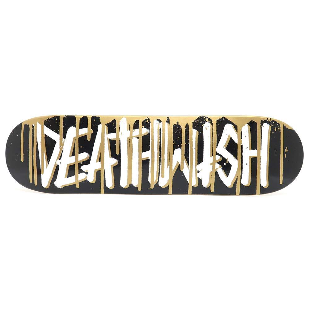 DEATHWISH DEATHWISH DEATHSPRAY DECK B07K446R1L デスウィッシュ デッキ TEAM DEATHSPRAY DRIP GOLD 8.0 スケートボード スケボー SKATEBOARD B07K446R1L, Cielo Blu ONLINE STORE:a9cb550b --- grupocmq.com