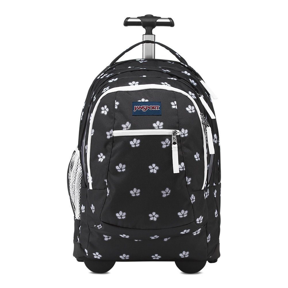 Jansport Driver 8 Rolling Laptop Backpack - Cherry Blossom