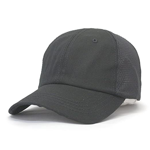 fdb29e32babd6 Breathable   Moisture Wicking Mesh Back Tactical Cap (Black) at ...