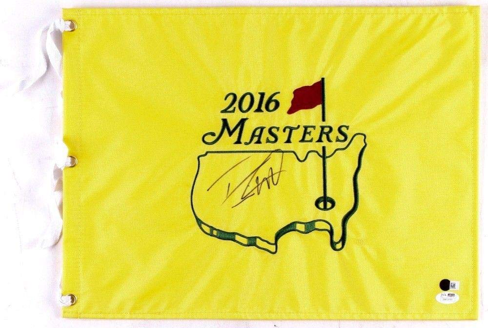 Danny Willett Autographed 2016 Masters Golf Flag (2016 Winner) Coa! JSA Certified Autographed Pin Flags