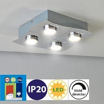 LED Deckenleuchte 42108878 Darlux Deckenlampe mit 4 x 3 Watt IP20 ...