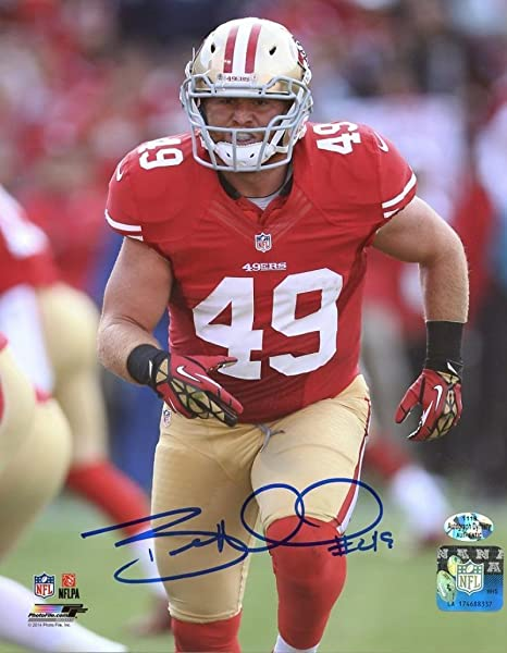 4a1d9c9f193 Signed Bruce (San Francisco 49ers) Miller Photo - 8x10 W coa - Autographed  NFL