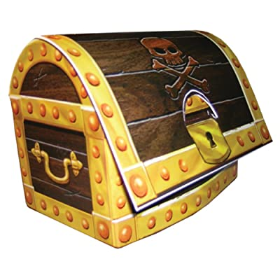 Creative Converting Buried Treasure 3D Treasure Chest Centerpiece Party Decoration: Toys & Games