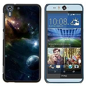Stuss Case / Funda Carcasa protectora - Espacio Galaxy - HTC Desire Eye M910x