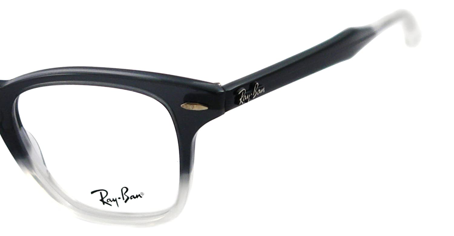 9959b9ee4e7 Amazon.com  Ray Ban RX5244 Eyeglasses-5073 Gray Gradient Opal Gray-47mm  Ray  Ban  Shoes