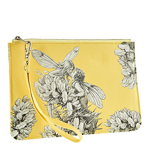 Flower Fairies Fairies Gorse Clutch Bag Borsa da spiaggia, 24 cm, Multicolore (Multicolor)