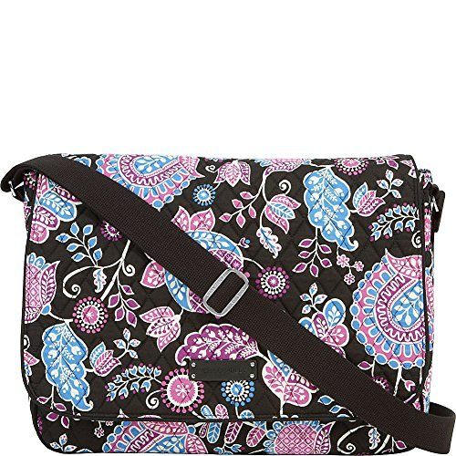 quilted messenger bag - 4
